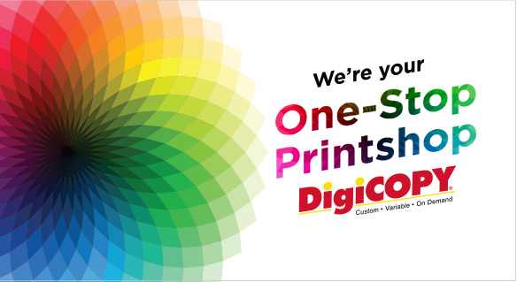 We're your One Stop Print Shop!