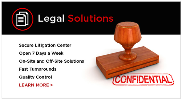 Print legal documents at our litigation center!
