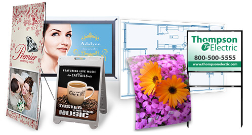 Oversize poster and banner printing
