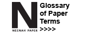 Glossary of paper terms